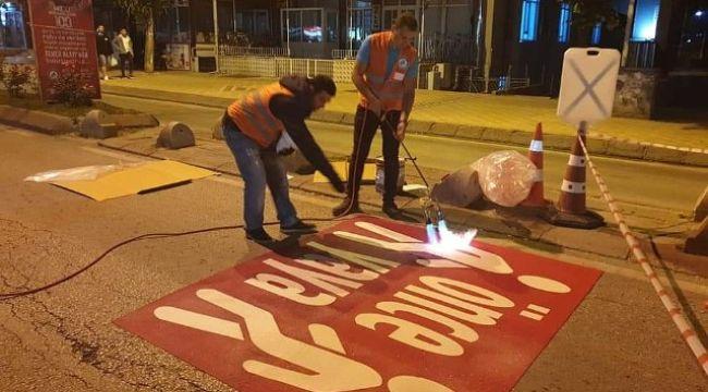 Belediyeden 'Önce Yaya'ya destek