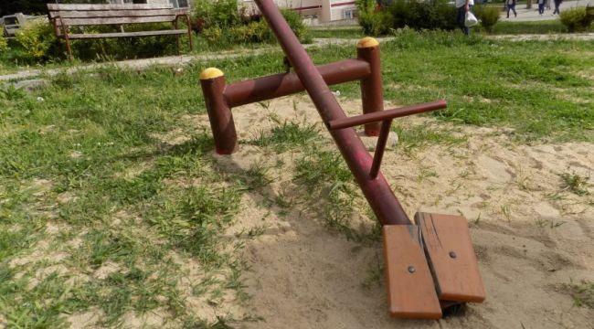 Çocuklar oyun parkını istiyor