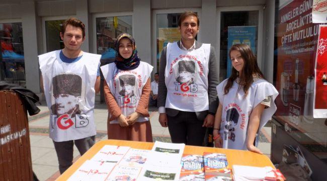 Gençler İstanbul'da yürüyecek