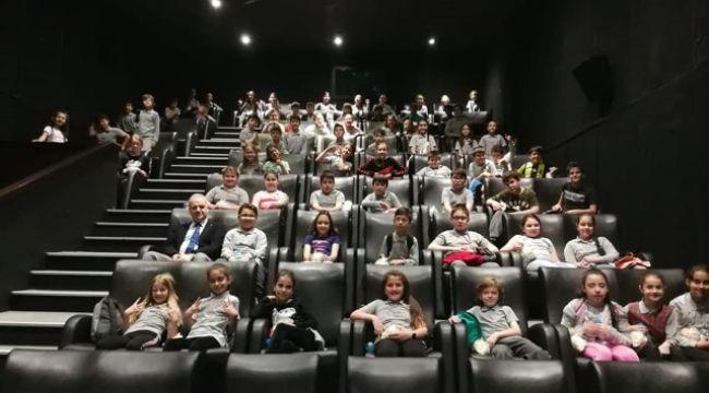 Öğrencilere sinema projesi