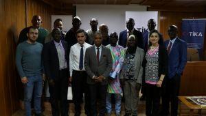 Senegal ve Gambialı uzmanlara Edirne'de eğitim