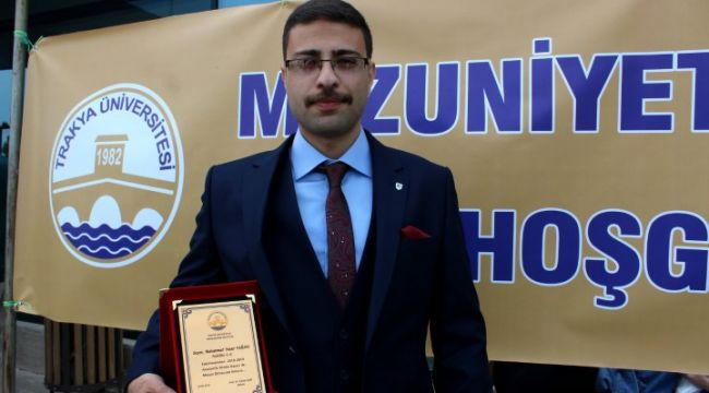 Suriyeli Muhammet Fakülte birincisi