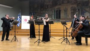 TÜ'den Selanik'te unutulmaz konser