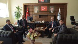 Vali Canalp'ten Helvacıoğlu'na iade-i ziyaret