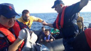 Denizde göçmen operasyonu