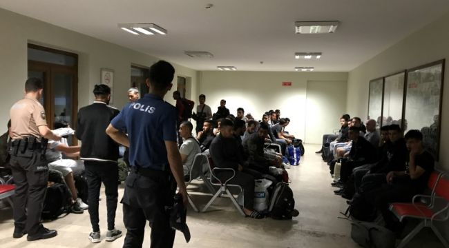 Tren Garı'nda kaçak göçmen denetimi