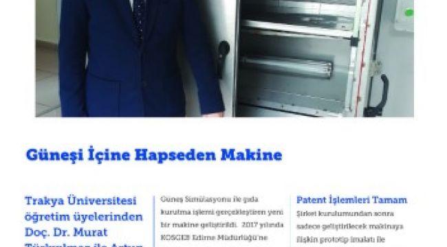 Doç. Dr. Türkyılmaz KOSGEB dergisinde