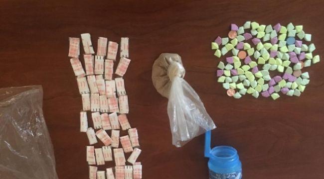 Keşan'da narkotik operasyonu