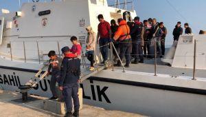 Ege Denizi'nde kaçak göçmen operasyonu