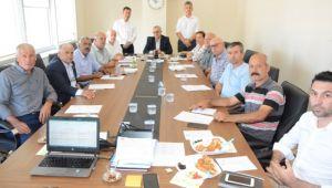 Keşan'da stratejik plan toplantıları sürüyor