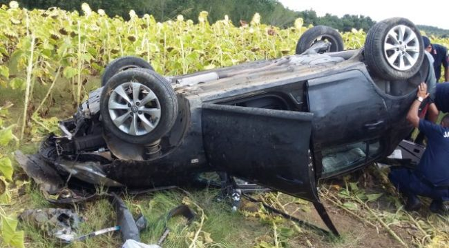 Trafik kazasında 5 yaralı