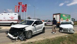 Trafik kazasında 6 yaralı