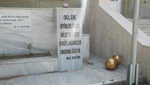Atatürk büstüne saldırı iddiası