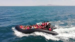 Edirne açıklarında 70 düzensiz göçmen yakalandı