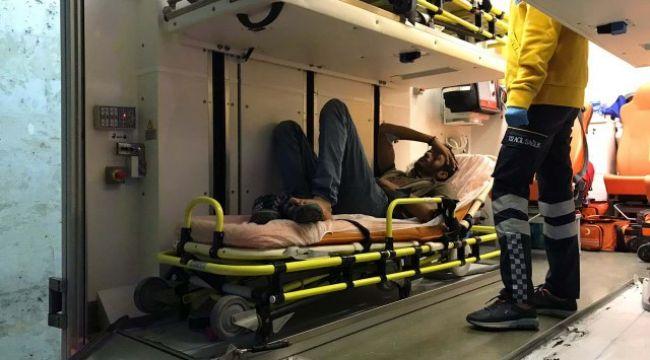 Göçmenleri yaralayan 2 şüpheliye gözaltı