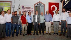 Gürkan, Muharrem Orucu iftarında