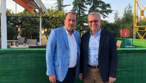 Harun Karacan'dan, Helvacıoğlu'na ziyaret