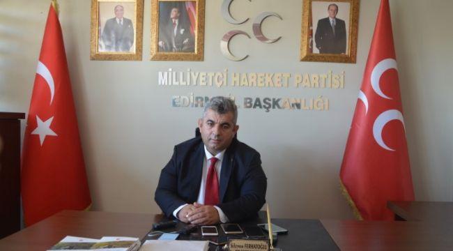 MHP İl Başkanı istifa etti