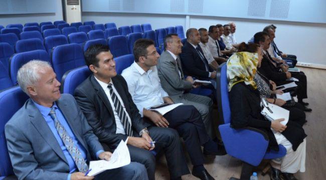 Ortaöğretim müdürleri toplantısı yapıldı