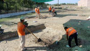 Saray kazıları devam ediyor