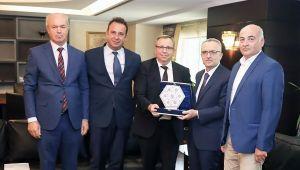 Trakya Üniversitesi heyeti, Cumhurbaşkanlığı Strateji ve bütçe Başkanlığında
