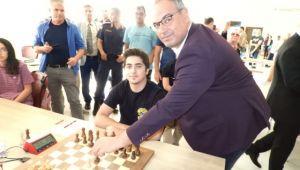 Uluslararası satranç turnuvası başladı