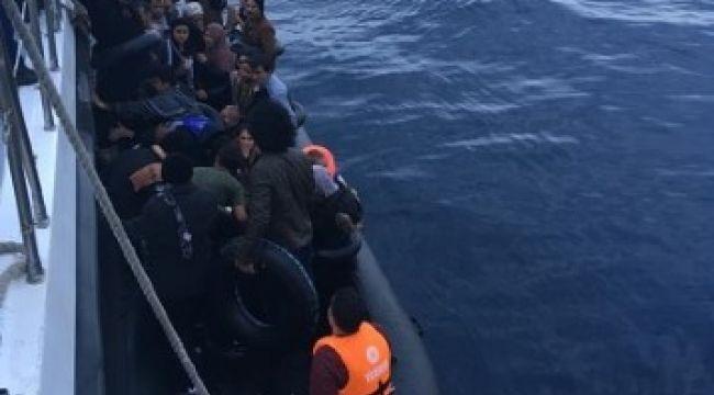 Ege Denizi'nde göçmen operasyonu