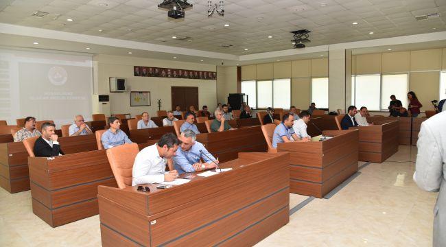 Ekim ayı meclis toplantısı gerçekleştirildi