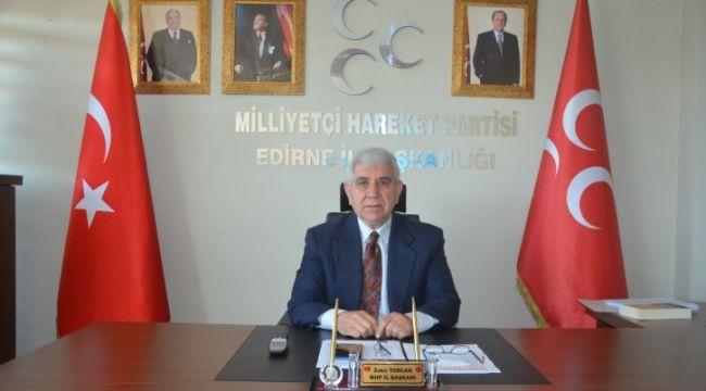 MHP'den 'Savaşa Hayır' çağrısına tepki