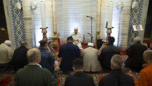 Selimiye Camii'nde Fetih Suresi okundu