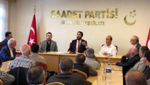 SP Konya Milletvekili Edirne'de