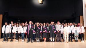 TÜ'de beyaz önlük töreni