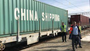 China Railway Express, Edirne'ye ulaştı