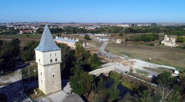 Edirne Sarayı'nı ayağa kaldırma çalışmaları sürüyor