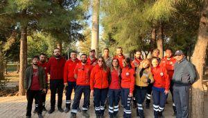 Gönüllü UMKE ekibi Edirne'ye döndü