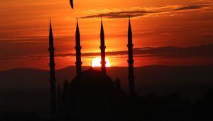 Selimiye'de gün batımı