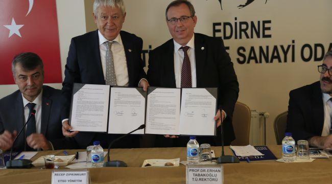 TÜ ile ETSO arasında işbirliği protokolü