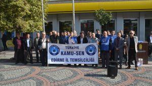 Türkiye Kamu Sen'den maaş tepkisi