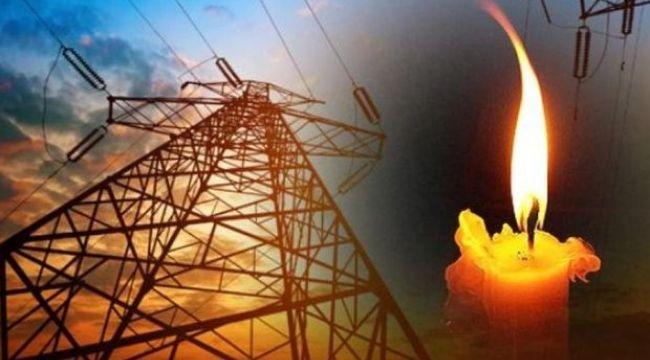 Yıldırım'da elektrik kesintisi