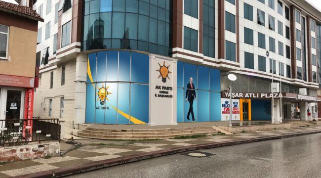 AK Parti'ye yeni hizmet binası