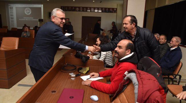 Aralık ayı meclisi toplandı