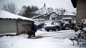 Kar Edirne'ye ulaştı