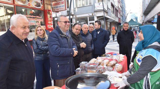 Keşan'da İzzeti İkram Pazar açıldı