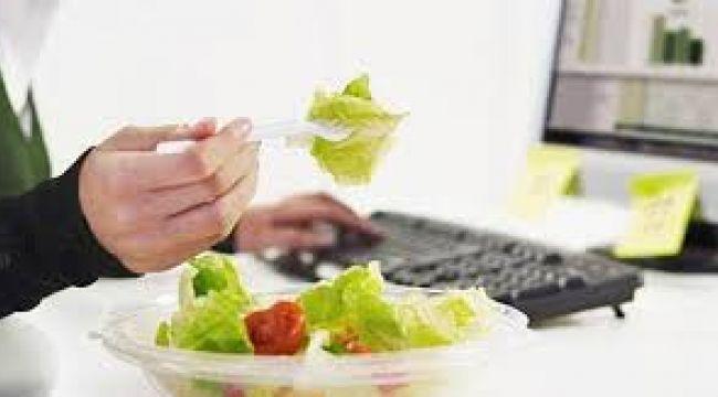 Beslenme alışkanlığınız iş hayatınızı etkiliyor