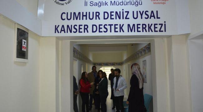 Kanser Destek Merkezi tanıtıldı