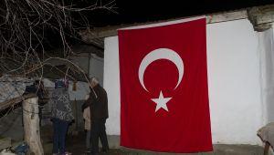 Şehit ateşi Edirne'ye düştü