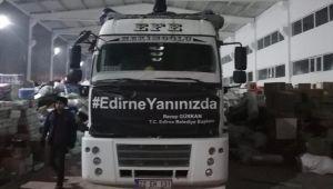 Yardımlar Elazığ'a ulaştı