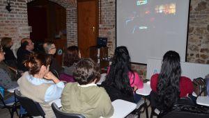 Kursiyerlere Yunanca film