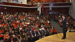 Öğrencilere yurtdışı eğitim sınavı anlatıldı
