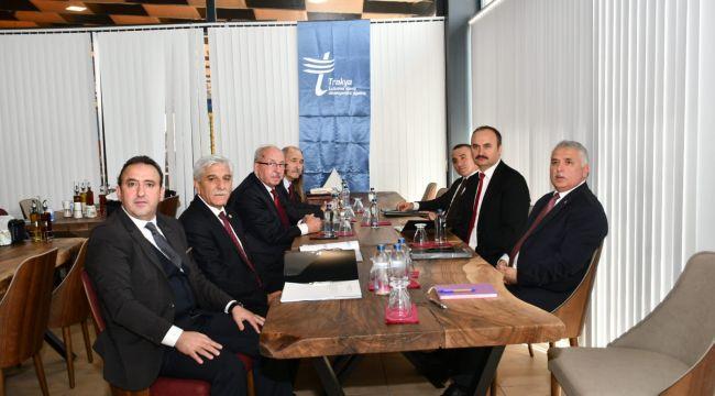 TRAKYAKA Yönetimi Edirne'de toplandı
